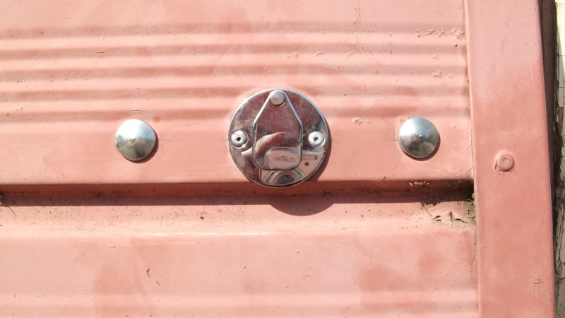 garage bolt locking mechanism from outside