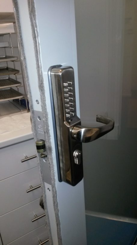 Fitting digital door locks