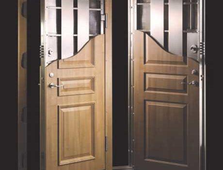 Steel Reinforced Security Door